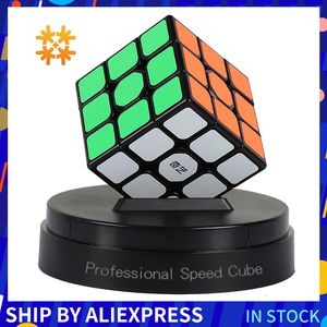Qiyi 3*3*3 Professional Cube Magic Cube Speedcube Puzzles Magic Cubes Educational Cube Puzzle Toys For Children Toys For Adults(China)