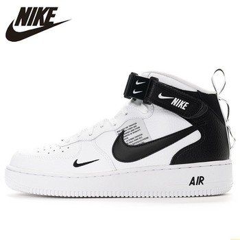 Nike Air Force 1 New Arrival Men Skateboarding Shoes Anti-Slippery Air Cushion Original Outdoor Sports Sneakers #804609 original new arrival 2017 converse men s skateboarding shoes leather sneakers