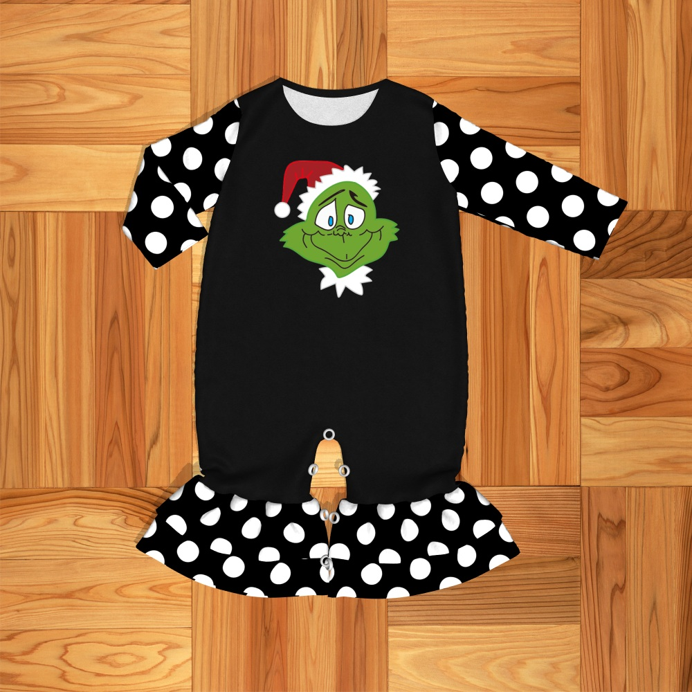 New design To Ship   Romper   Christmas geek Pattern clothing Baby clothes Free Shipping 1908011401HY