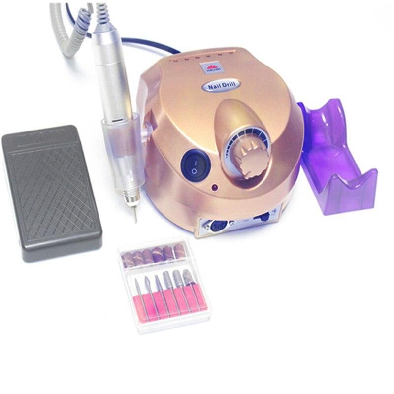 35000rpm20000rpm elétrica manicure pedicure ferramenta dril máquina