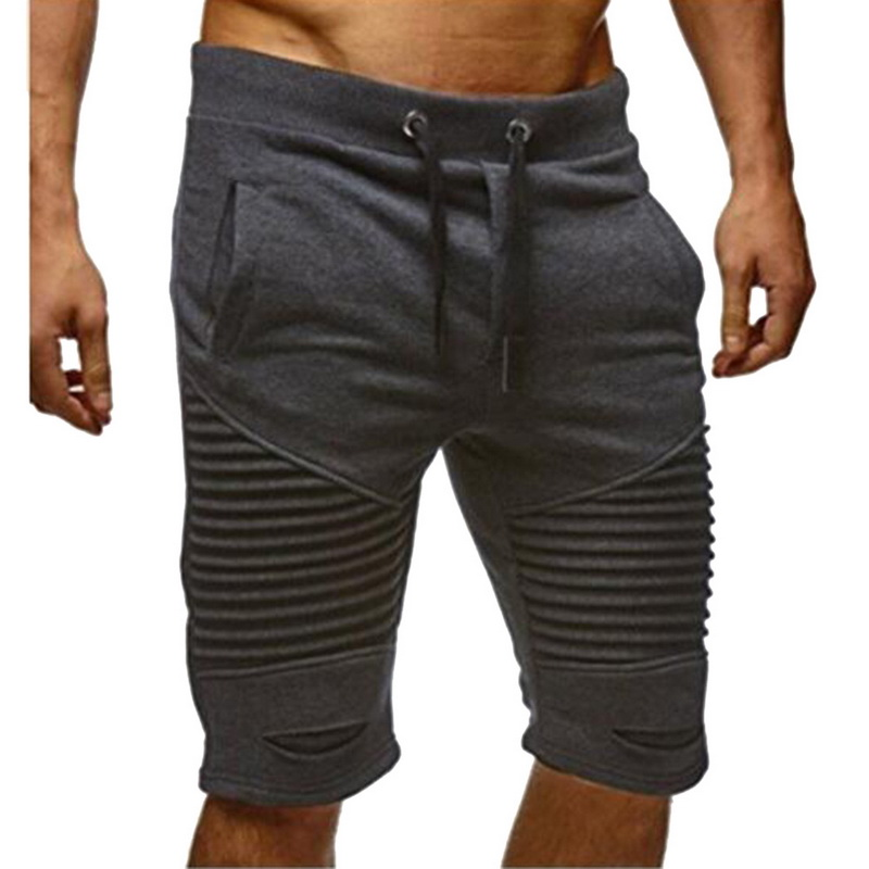 Laamei Cotton Shorts Men Brand Casual Summer Plus Size Men Short Knee Length Surfings Short Leisure Fitness Breathable Shorts