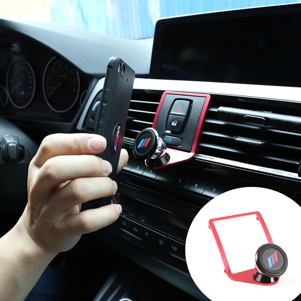 Suitable for BMW 2 3 4 Series M2 M3 M4 Car Mobile 3 Colors Phone Holder Trim F21 F22 F23 F30 F31 F32 F33 F34 F35 F36 F80 F82 image