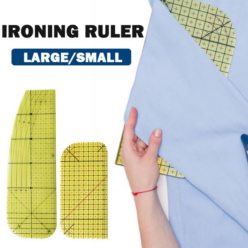 BACHELORETTOOL Hot Ironing Ruler DIY High Temperature Resistance Ironing Rule Patchwork Craft Measuring Handmade Tool for Sewing Clothes /& Fabric Dress