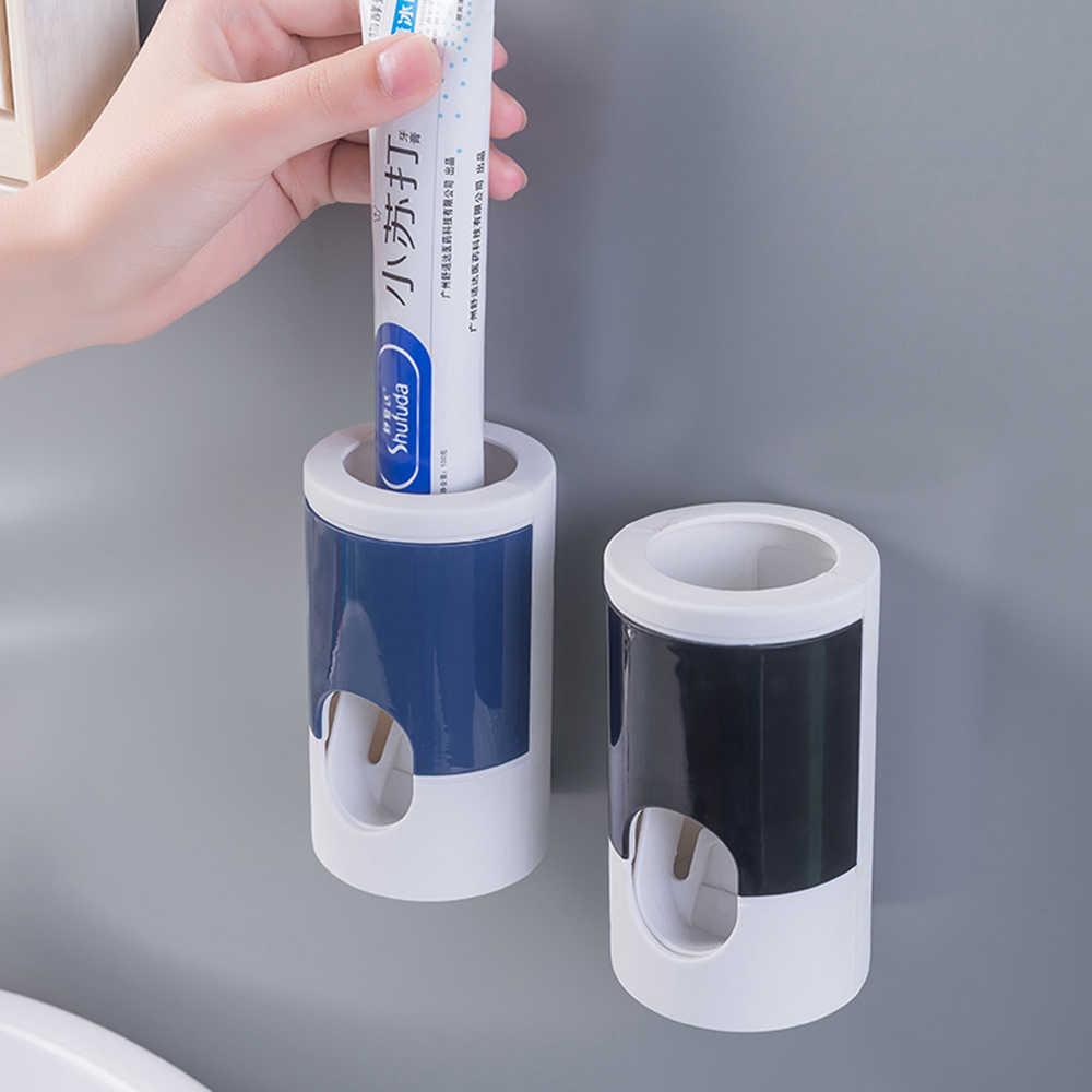 Automatische Zahnpasta Squeezer Hand Freies Zahn Paste Quetschen Dispenser Leicht Drücken Zahnpasta Halter Bad Werkzeuge