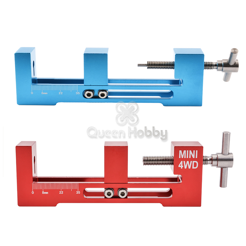 Aluminum Alloy Large/Small Bearing Top Rail Tyre Wheel Mounting Device Tool <font><b>4WD</b></font> <font><b>Tire</b></font> Installer for RC <font><b>Tamiya</b></font> <font><b>Mini</b></font> <font><b>4WD</b></font> Racing Car image