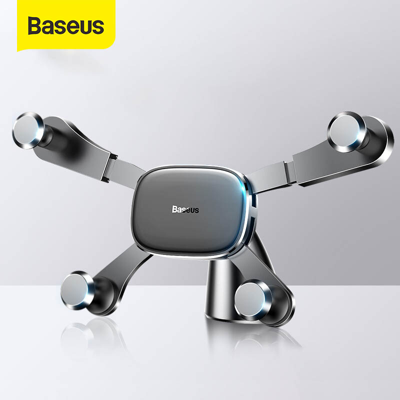 Baseus Gravity Car Phone Holder For IPhone X 11 XR Samsung Xiaomi Smartphone Dashboard GPS Stand Mobile Support Auto Mount