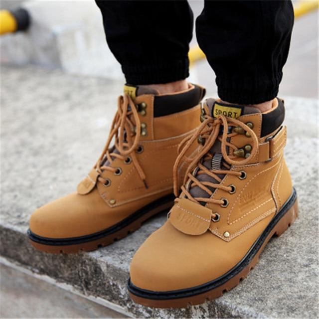 Work Clothes Shoes High Top Desert Shoes cb5feb1b7314637725a2e7: Black|Brown|Fur black|Fur brown|Fur yellow|Yellow