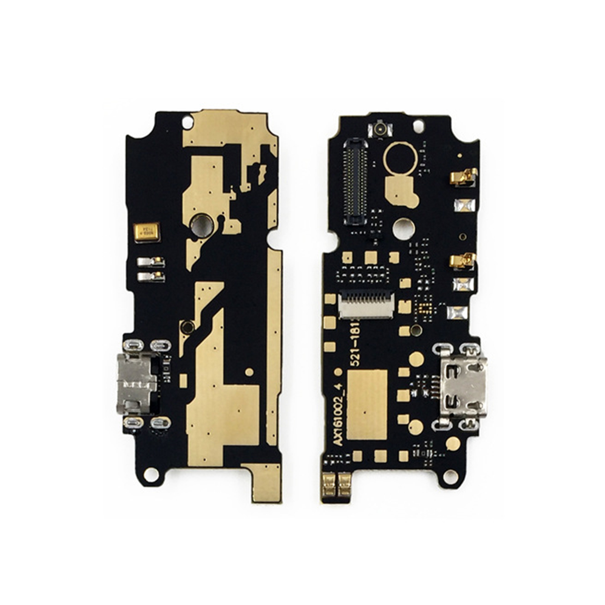 1pcs New USB Micro Plug Charging Port Flex Cable Connector Replacement Parts For Xiaomi Redmi Note 4 Mobile Phone Flex Cables