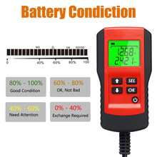 Hot New 12V Digital Car Battery Tester Automotive Voltage Battery Load Analyzer Automobile Vehicle Battery Diagnostic Tool 2019(China)