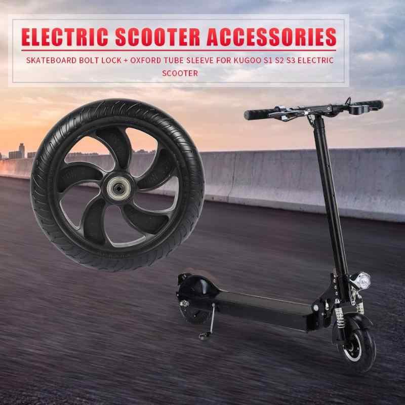 Scooter Elettrico Ruota Posteriore Solido per Kugoo di Nuovo Pneumatico W/Mozzo Della Ruota di Ricambio Ruota Posteriore per La Kugoo S1 S2 s3 Scooter Accessori