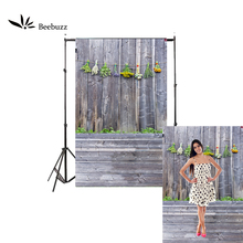 Beebuzz photo backdrop pastoralism gray wood style photography background photographic  home and studio use