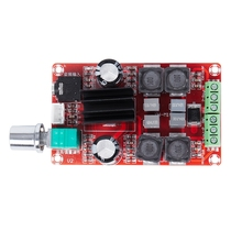 купить TPA3116D2 2 * 50W high-end digital amplifier board DC24V TPA3116D2 dual-channel amplifier board дешево