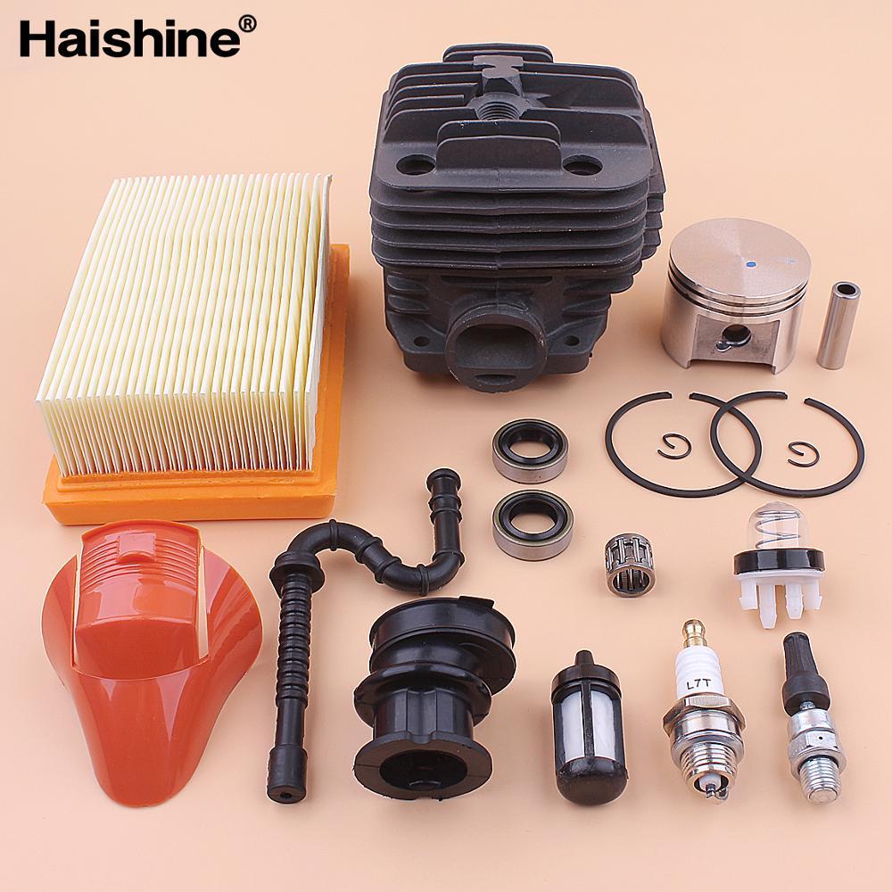 TS400 Cylinder /& Piston Pin Kit Bearing Top End Rebuild Kit Fit For STIHL TS 400