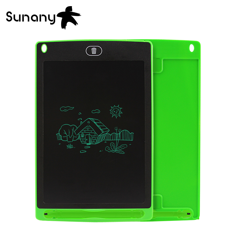 Sunany 2 Pieces A Lot  8.5 Inch Graphic Tablet Lcd Handwriting Board Energy Saving Lcd Writing Tablet For Children Gifts