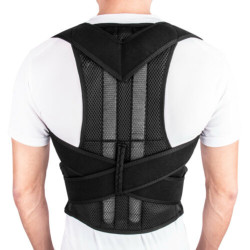 Men's Women's Magnetic Back Posture Corrector Shoulder Support Brace Back Support Orthopedic Corset Back Corrector