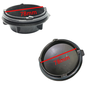 Image 4 - 1 pc for skoda superb Headlamp dust cover waterproof cap Xenon lamp LED bulb extension dust cover Bulb trim panel Lamp shell