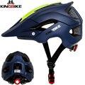 KINGBIKE взрослый велосипедный шлем для езды на велосипеде MTB велосипедный дорожный безопасный интегрированный Сверхлегкий дышащий велосипед...