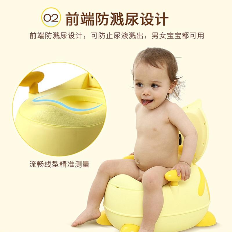 CHILDREN'S Toilet Pedestal Pan Little Duck Baby Bedpan Infant CHILDREN'S Urinal Kids Toilet Toilet Pee Useful Product