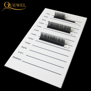 Image 3 - Eyelash Acrylic Lash Pallet Individual Eyelash Tile Palette Adhesive Glue Ceramic 5 Pieces Holder New Eyelash Extensions Tools