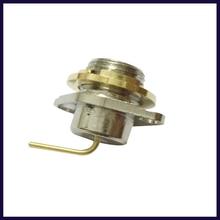 OPPXUN 5pcs Connector SMA plug 2-hole flange Kenwood Radio TK2107 3107 2260 3160 3260 UV5R
