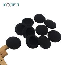 цена на KQTFT Soft Foam Replacement Ear pad for Jabra biz 620 biz620 biz-620 USB Headset Sleeve Sponge Tip Cover Earbud Cushion