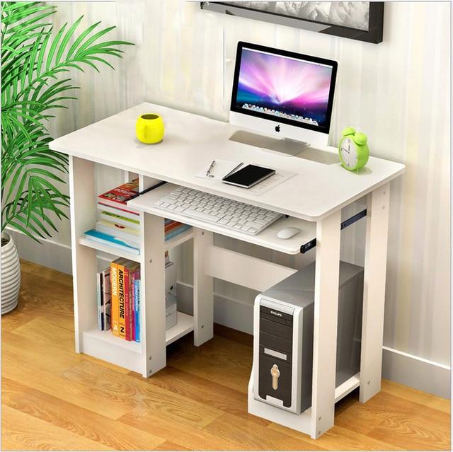 Home Computer Desk w/ Storage Shelves  1