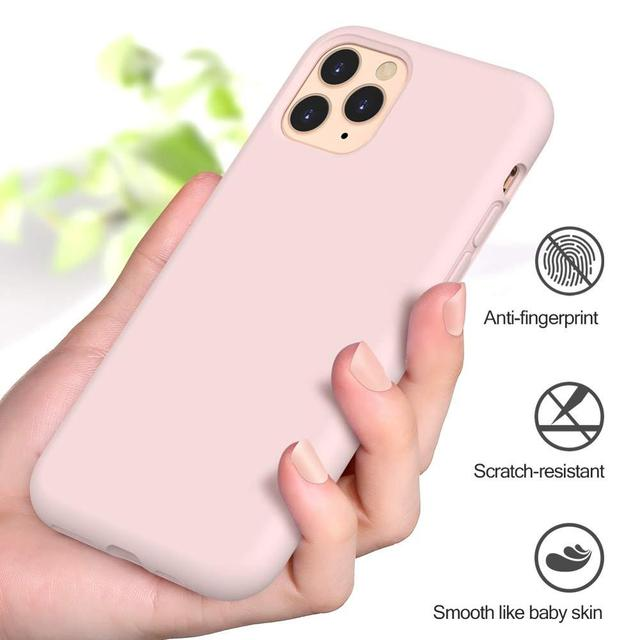 Original Liquid Silicone Luxury Case For Apple iPhone 11 12 Pro Max mini 7 8 6 6S Plus XR X XS MAX 5 5S SE Shockproof Case Cover 2