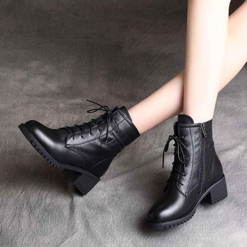 Năm 2020 Nam Nữ Cao Cấp Chelsea Boot Nữ Boot Da Chun Mùa Đông Giày Nền Tảng Mắt Cá Chân Giày Gót Dày Thương Hiệu Thiết Kế
