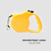 3/5M Retractable Dog Leash Training Puppy Automatic Extending Rope Walking Leashes Adjustable Collar For Small Medium Dogs