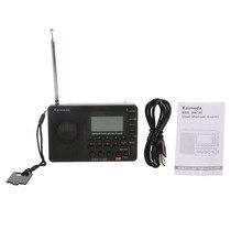 Digital Tuning LCD Receiver TF MP3 REC Player AM FM SW Full Band Radio Portable