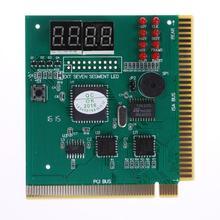4-разрядный ЖК-дисплей Дисплей ПК Анализатор диагностический пост материнская плата Post тестер Индикатор с светодиодный для mian board