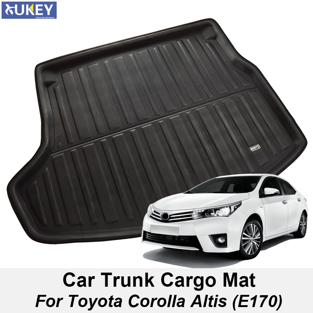PROTECTIVE RUBBER BOOT MATS TO FIT Toyota Avensis MODELS UNIVERSAL BOOT MAT