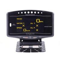 Universal Auto gauge 10in1 New Version DEFI Advance ZD Link Meter Digital Tachometer volt speed water temp oil press boost