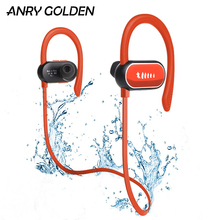 цены A9 Waterproof IPX7 Wireless Headphones Bluetooth Earbuds HD Stereo Noise Cancelling for Sport Running Gym Earphone