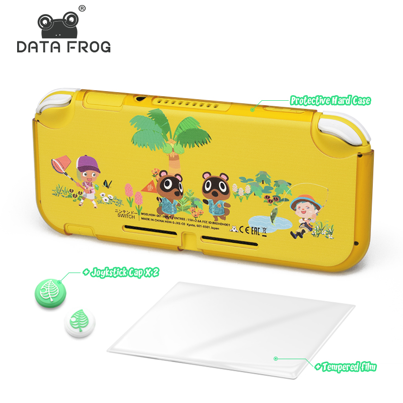 DATA FROG Animal Crossing Protective Hard Case For Nintendo Switch Lite Anti-Slip Shell