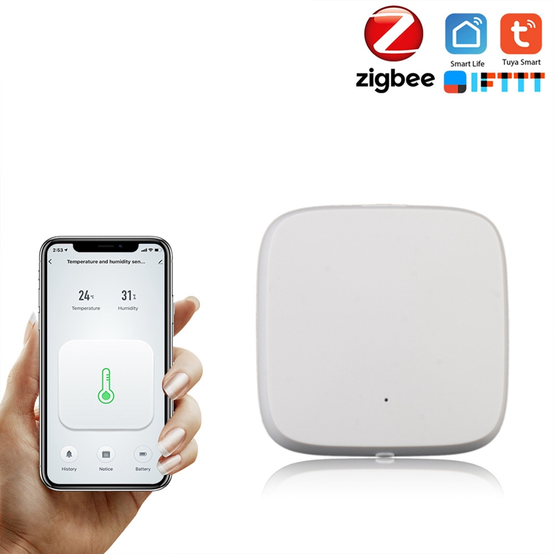 ABKT-Wifi Switch Zigbee Sensor Extension Monitoring Temperature Humidity Probe Timer For Google Home Alexa
