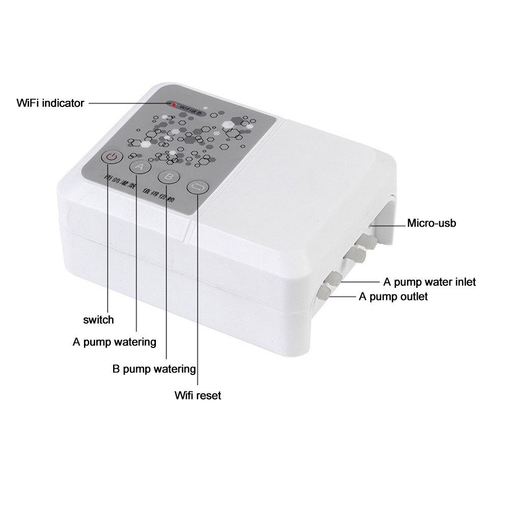 remoto 4in1 varanda planta com temporizador micro