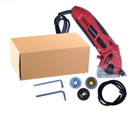 Electronic Cutting Saw Portable Wind Cutter Chainsaw 400W 3400RPM Multifunctional Power Tools DIY