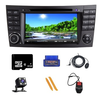 ZLTOOPAI Car Multimedia Player For Mercedes Benz E-Class W211 E300 CLK W209 CLS W219 Auto Radio GPS Navigation Auto DVD Player image
