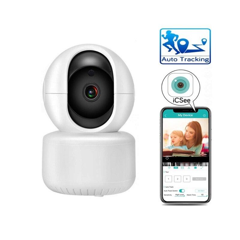 Wdskivi faixa automática 1080 p câmera ip monitor de segurança vigilância wi fi sem fio mini inteligente alarme cctv câmera interior icsee xmeye