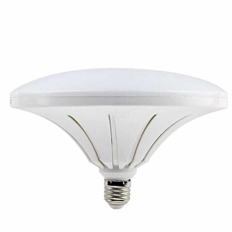 高輝度のプラスチック Led 電球ライト E27 30 ワット 40 ワット 50 ワット 4800LM 5730 SMD LED グローブライトフライングソーサーランプスポットライト電球