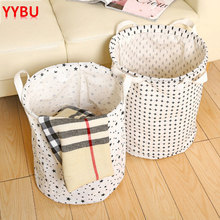 YYBU 40*35CM Waterproof Laundry Basket for Dirty Cloth Toys Storage Large of Clothes