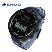 SUNROAD 2020 ใหม่ทหารกีฬาสมาร์ทนาฬิกา GPS GPS อัตราการเต้นหัวใจเครื่องวัดระยะสูงเข็มทิศ Run SWIM จักรยานควา...