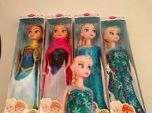 32cm muñeca helada de alta calidad Anna Elsa muñecas Boneca niñas juguetes Snow Queen 2 Sharon muñecas regalo para niña