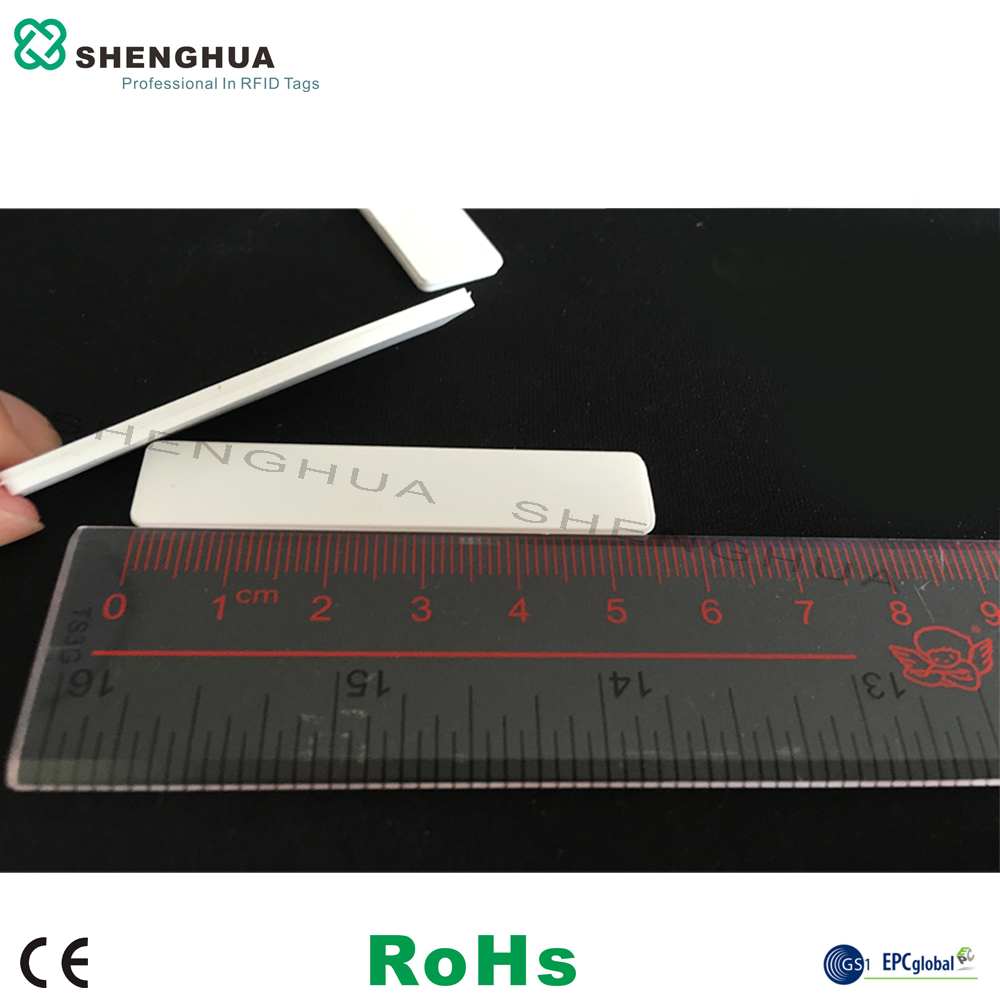 10pcs/pack Reusable UHF Passive Silicone Laundry Tag Soft Washable 860-960MHz RFID Sticker Sewing Towel For RFID Access Hotel