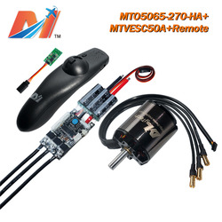 Maytech 5065 270KV motor and SuperESC based on VESC for e-skateboard and electric longboard remote