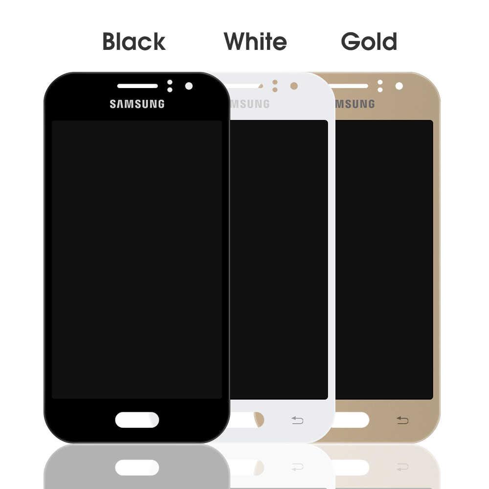 LCD pour Samsung Galaxy J1 Ace J110 SM-J110F J110H LCD écran tactile numériseur assemblée remplacement peut ajuster la luminosité