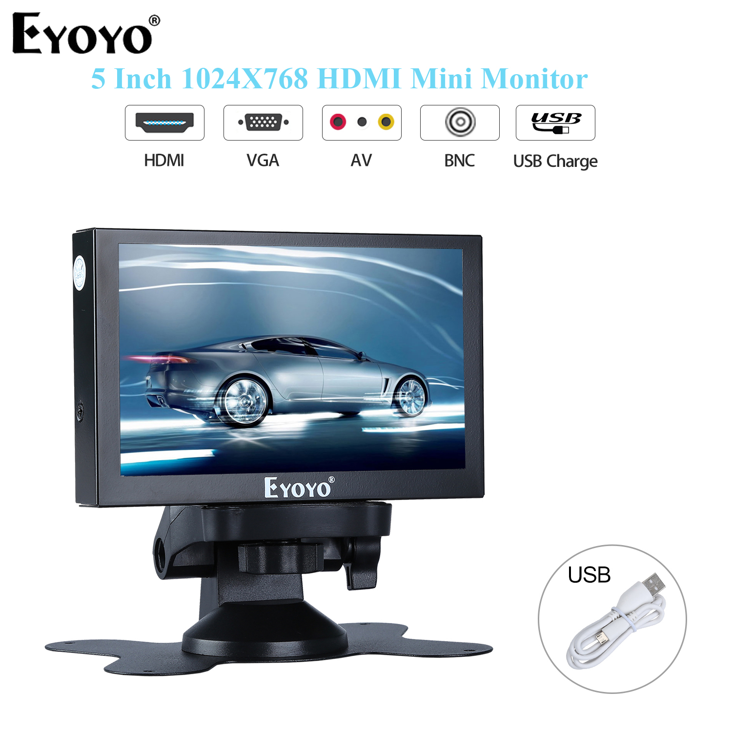 Eyoyo S501H IPS HDMI Mini Monitor 5.5