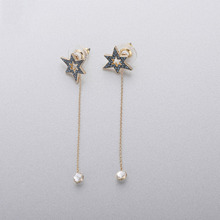 High Quality 1:1 Swa Master Romantic Delicate Star Girl Earrings