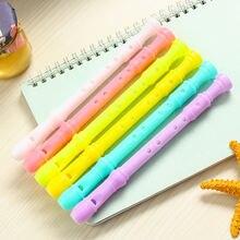 Креативная гелевая ручка для музыкального кларнета кавайные